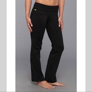 Lole yoga stability black pant yoga leggings Med
